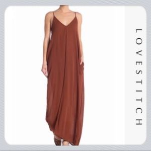 Love stitch Top-selling Gauze Maxi With Pockets